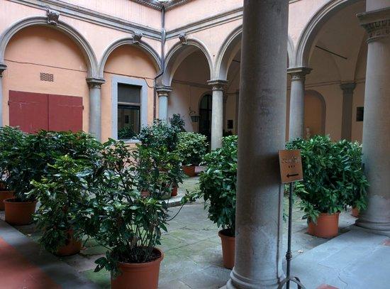 Silla Hotel: Courtyard