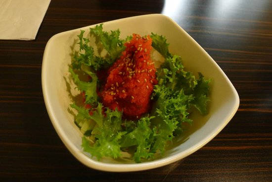 Asian Bistro: Spicy tuna appetizer