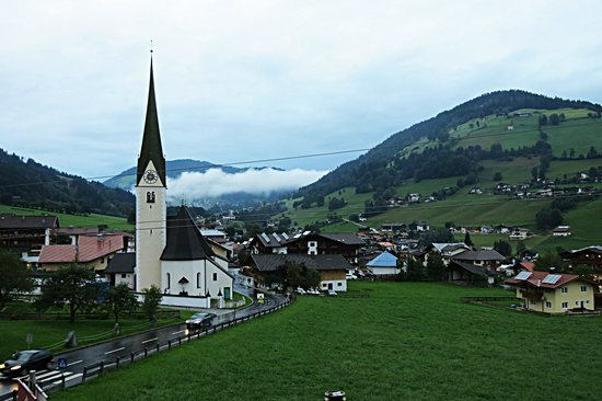 Hotel Austria : The view from my room
