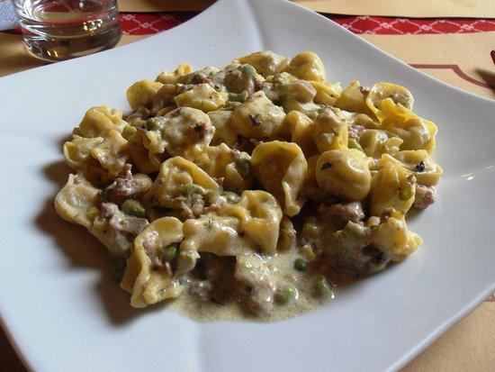 Gastronomia Il Cervo: Tortellini alla burina