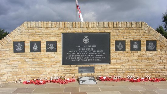 National Memorial Arboretum : memorial to servicemen who have died in the performance of their duty since ww2