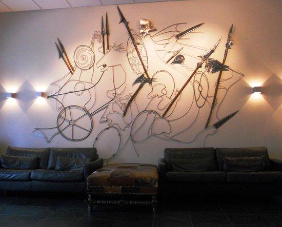 Hotel Fron: Hotel lobby