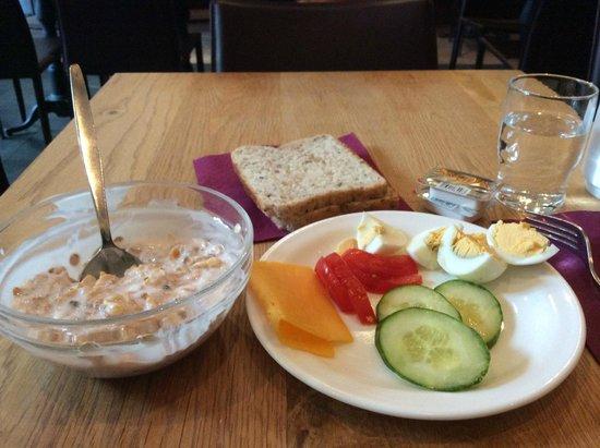 Hotel Fron: My daily breakfast