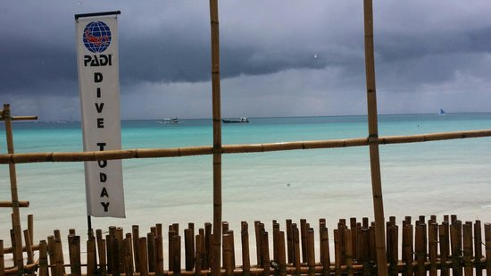 WaterColors Boracay Dive Resort: This is the view I wake up to every morning!!