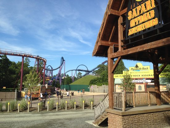 Six Flags Great Adventure: Safari entrance