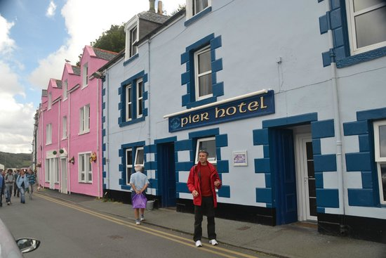 Pier Hotel: The hotel is right on the pier