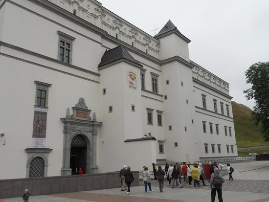 Palace of the Grand Dukes of Lithuania, National Museum: ingresso del museo