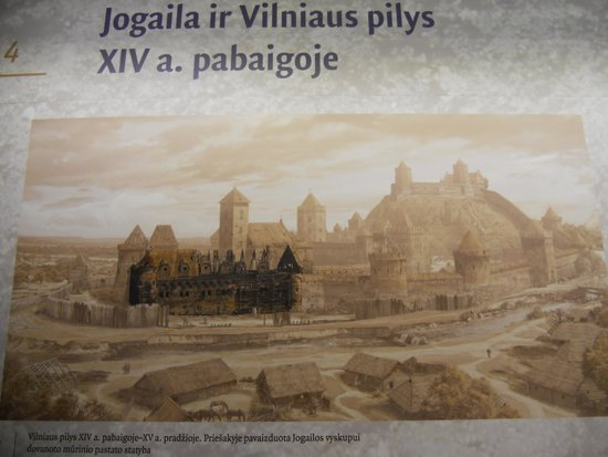 Palace of the Grand Dukes of Lithuania, National Museum: ricostruzione storica