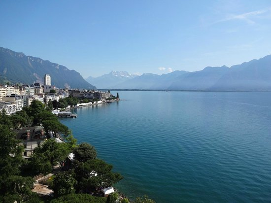 Eurotel Riviera Montreux: Breathtaking views from the room!