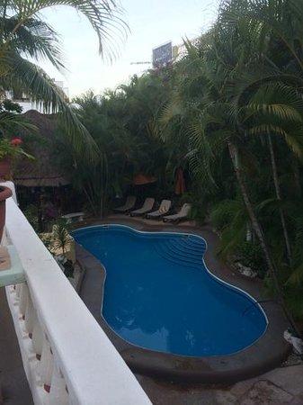 Aventura Mexicana: pool view