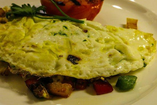 InterContinental London Park Lane: In-Room breakfast, our egg white omelette