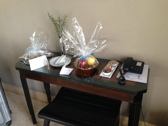 Widiane Suites & Spa : Welcome Gift