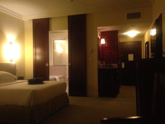 Mazagan Beach & Golf Resort: Hotel partly sea view room