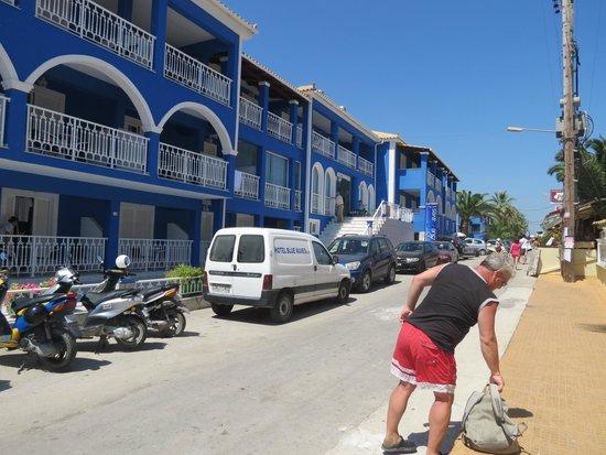 Laganas Beach: The Blue Waves Hotel