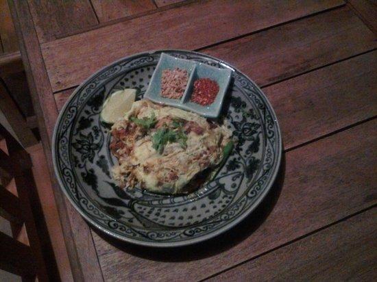 Sabaidee Guesthouse : Un très bon pad thaï