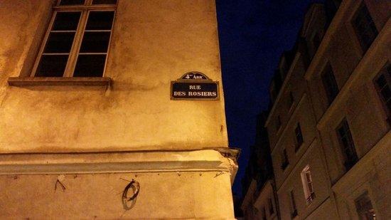 Le Marais: Rue  des roisiers