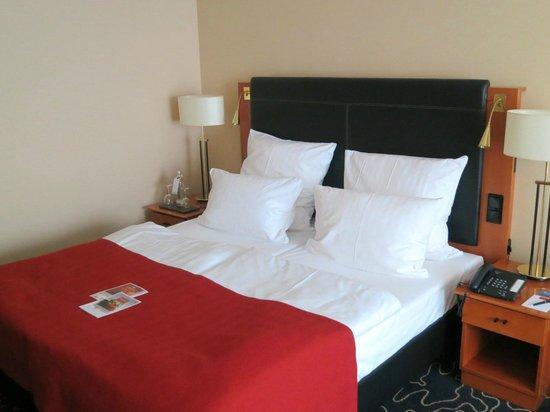 Steigenberger Hotel Hamburg: Unser Zimmer