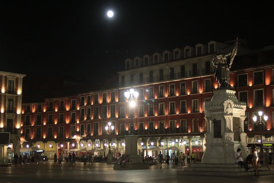 Novotel Valladolid: the Plaza Mayor