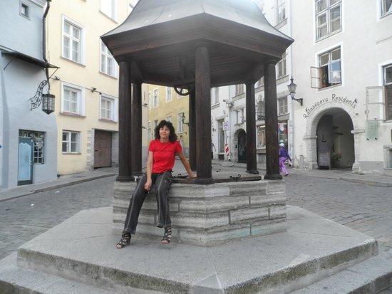 Tallinn Old Town: Колодец ведьм