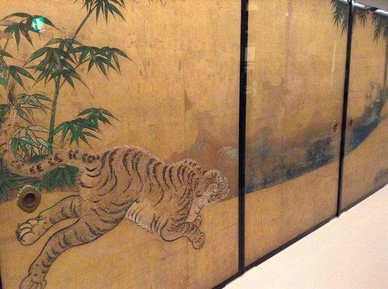 Nagoya Castle : 名古屋城内に展示されている本丸御殿の襖