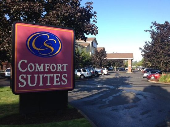 Comfort Suites Linn County Fairgrounds and Expo: Very nice Hotel
