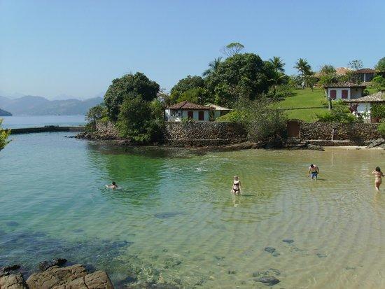 Lagoa Verde, Ilha Grande: Hermosa playa