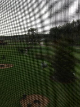 High Country Guest Ranch : View from Loft Window