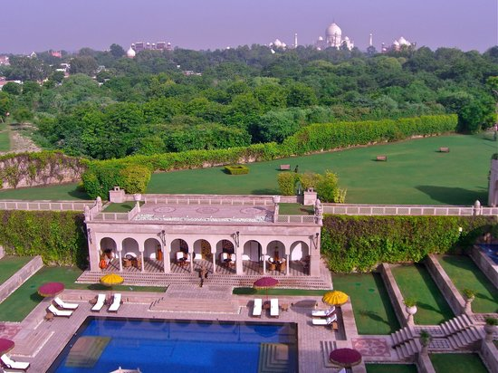 The Oberoi Amarvilas: View from 401