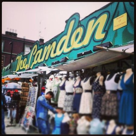 Camden Market : The Market