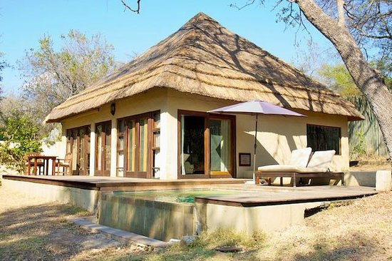 Dulini River Lodge : Room #8 with private plunge pool