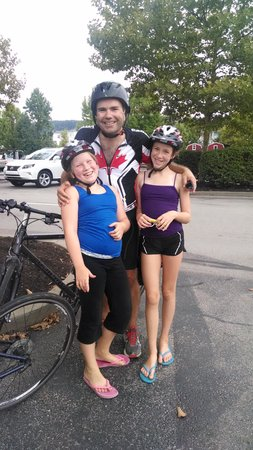 Bike the GAP Bicycle Tours: We did it! 140 miles of the GAP!