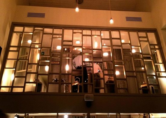 Georges Dining Room And Bar Glass Wall