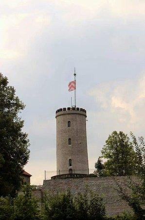 Die Sparrenburg in Bielefeld.