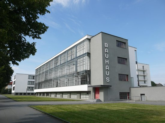 Bauhaus Dessau Foundation: the main building.