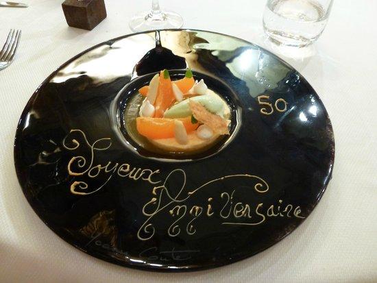 Restaurant Yoann Conte : Dessert