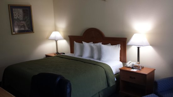 Quality Inn Americus: love the beds in the rooms