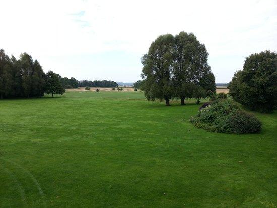 Chateau de Villiers le Mahieu: View from Room 81