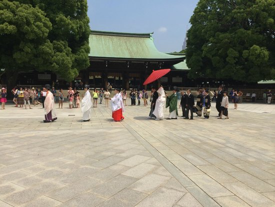 The Westin Tokyo: Meji Temple Wedding Ceremony