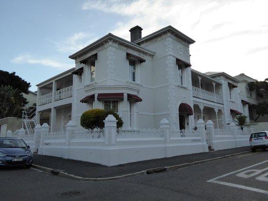 Underberg House: External view