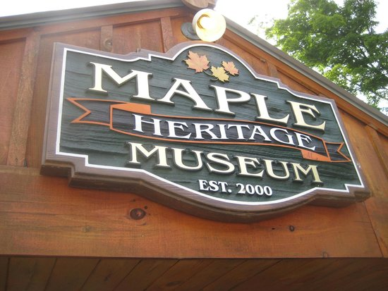 Wheelers Maple Museum: Beautiful signage!