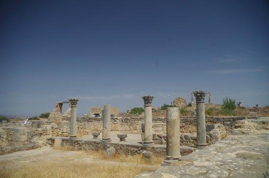 Site archéologique de Volubilis : Un cadre grandiose