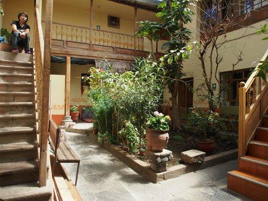 Sumayaq Hostel Cusco: The lovely courtyard