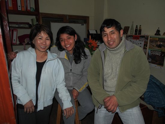 Sumayaq Hostel Cusco: Me with the owners!