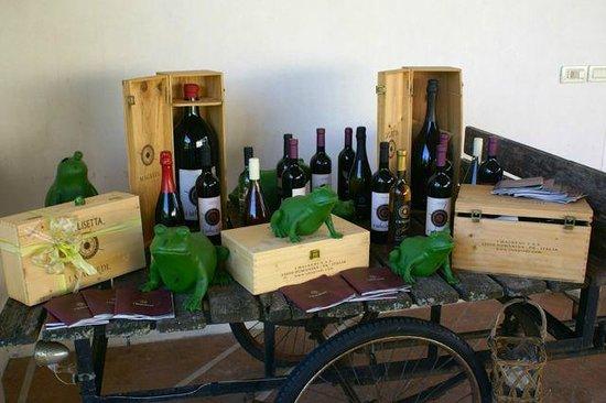 Borgo dei Conti della Torre: Weine aus der Produktion des Hauses