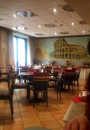 Hotel Roma Prague: colazione