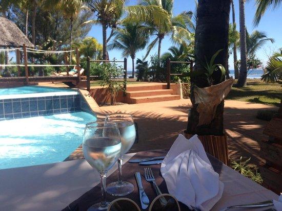 VOI Amarina resort: pranzi con vista piscina