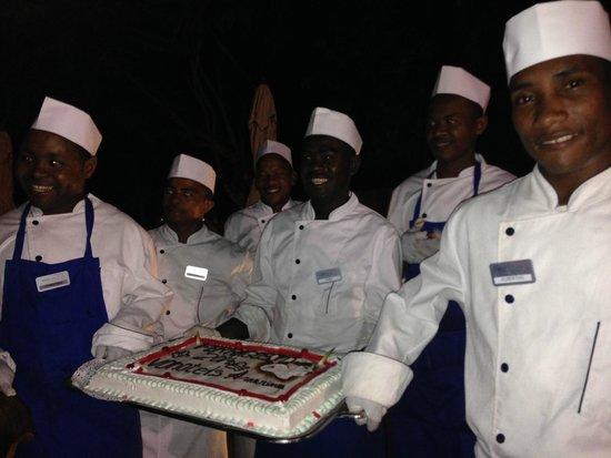 VOI Amarina resort: torta di ferragosto