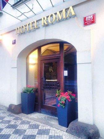 Hotel Roma Prague: ingresso