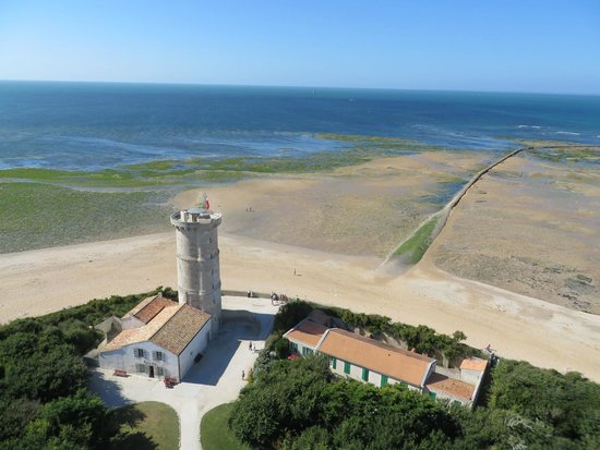 Phare des Baleines : View from atop the Phare de la baleine 2