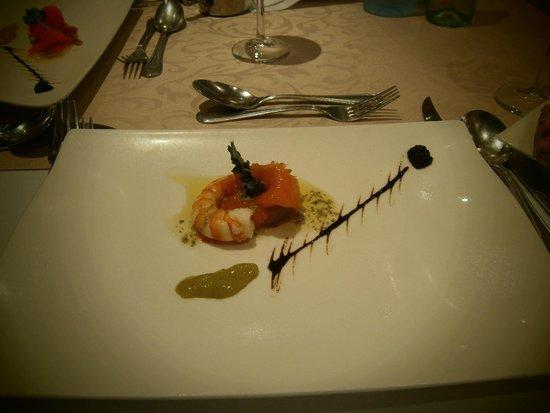 Atlantica Golden Beach Hotel: ужин а ля карт